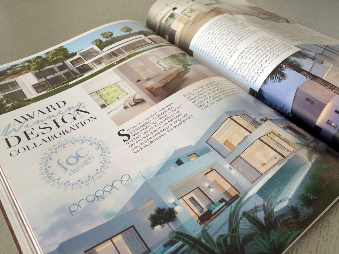 """Award Winning Design Collaboration"" - Society Magazine (September 2015)"
