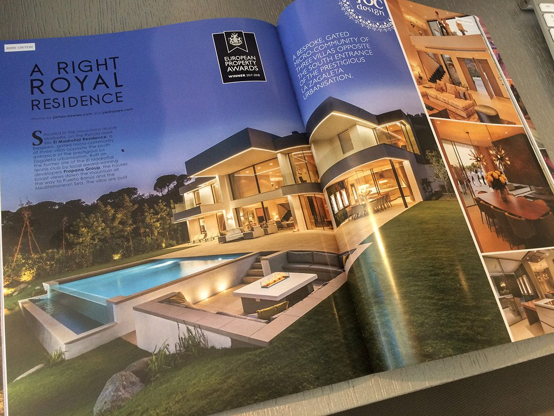 """A right royal residence"" - Society Magazine (October 2017)"