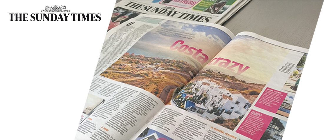 El Madronal Residence named as one of the top 10 off-plan developments in Spain - The Sunday Times (June 2015)